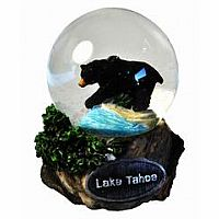 Large Lake Tahoe Bear Snowglobe